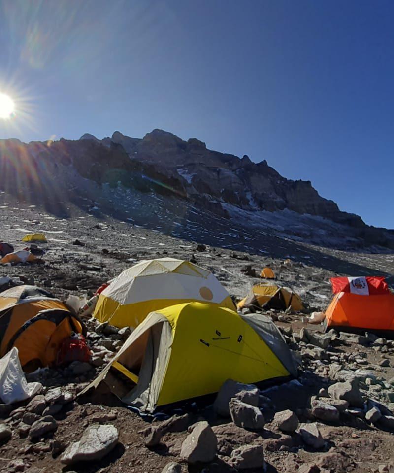 Aconcagua Camp I